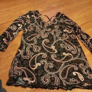 Exhilaration dress/tunic great for leggings